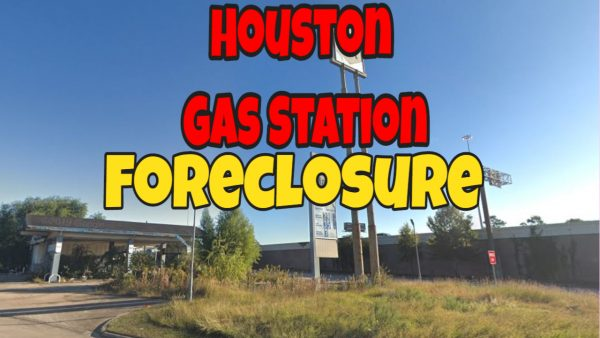 Houston Foreclosure Gas Station C-Store For Sale