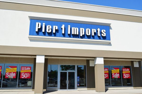 Pier 1 – National Tenant Shutting Down 450+ Stores